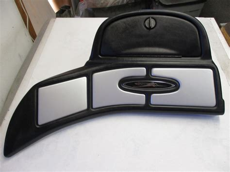 Skeeter Boats Green Bay by Skeeter Dash Panel W Glove Compartment Black Silver Gray