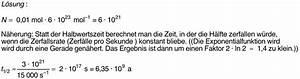 Halbwertzeit Berechnen : kernphysik ~ Themetempest.com Abrechnung