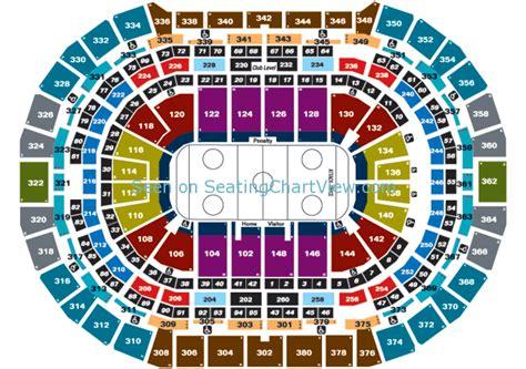 pepsi center denver  seating chart view