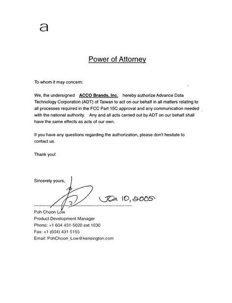 pilotboard wireless cover letter poa letter acbrands