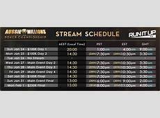 Tag 4 des Aussie Millions Main Event im Livestream ab 04