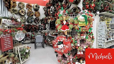 Christmas At Michaels-christmas Decorations
