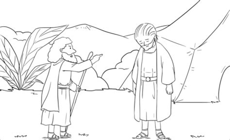 samuel rebukes saul  samuel   coloring page  printable coloring pages