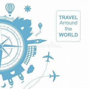 Round Trip Time Berechnen : famouse places travel arround the world vector ~ Themetempest.com Abrechnung