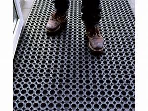 Tapis Pour Entrée : tapis de sol antid rapant caillebotis en caoutchouc pour entr es publiques contact watco ~ Melissatoandfro.com Idées de Décoration