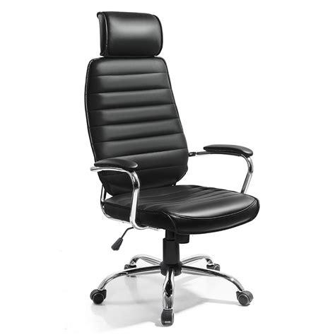 siege bureau confortable fonte noir fauteuil chaise siege de bureau design moderne