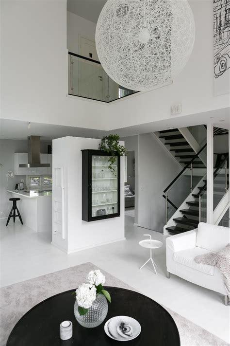white home interior design scandinavian modern black and white interior design