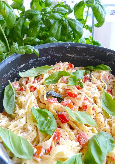 la cuisine de micheline lemon ricotta pasta au basilic et poivron la cuisine