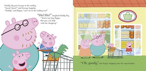 Peppa Pig Let's Go Shopping Peppa  In The Playroom