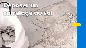 Carrelage Au Sol : comment enlever du carrelage au sol castorama youtube ~ Nature-et-papiers.com Idées de Décoration