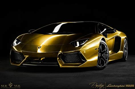 The Midas Touch Project Au79 Gold Finished Aventadorau79