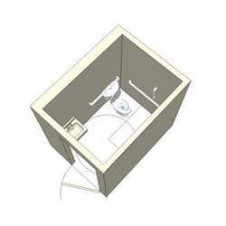 3d sketchup ada bathroom design cadblocksfree cad
