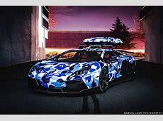 Lamborghini Aventador Bike Rack Wallpaperscraft