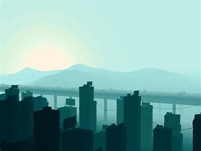 Dribbble Landscape Race Animation Mathew Lucas Pixel