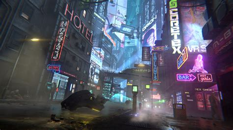 cyberpunk city  kevin ho cyberpunk