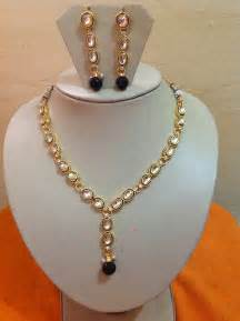 Simple Gold Necklace Indian Designs