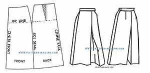 How to Draft the culottes Pattern-Making com