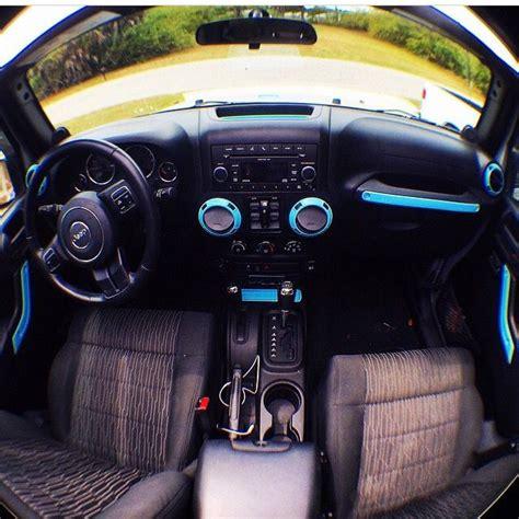 tiffany blue jeep interior jeep wrangler w tiffany blue accents okay for my