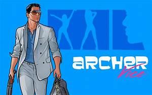 Archer Vice - Archer Wallpaper (1280x800) (27441)