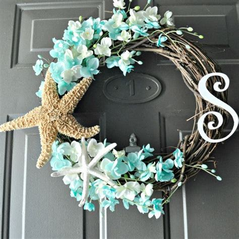 coastal door wreaths 14 interestingly colorful summer door wreaths ideas