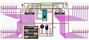 Arduino Nano    2  Tlc5940    34 Leds   Power Questions
