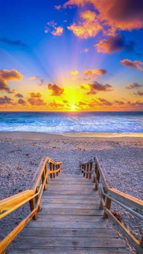 Christmas Eve Beach Sunrise From Jupiter, Florida Photo By ...