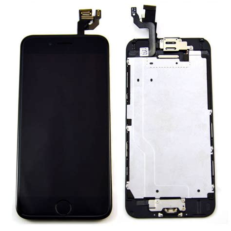 screen repair for iphone 6 black iphone 6 4 7 quot lcd digitizer touch screen replacement