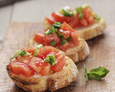 recette bruschetta italienne  la tomate