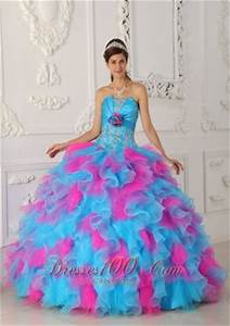 Puffy Quinceanera Gowns Big Skirt Ball Gowns Poofy Prom Dress