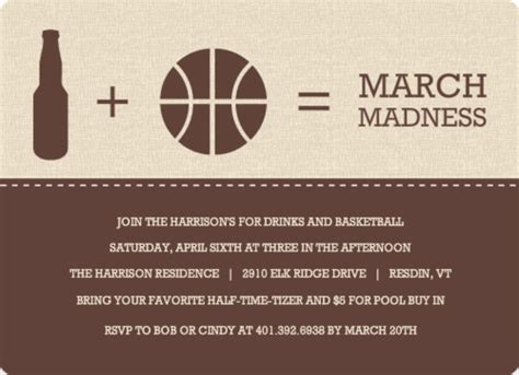 march madness party ideas  purpletrail