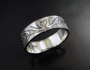 man39s dragon heart wedding ring sterling silver celtic With celtic inspired wedding rings