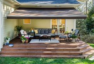 Exterior Sun Setter Retractable Awning With How Much Is A