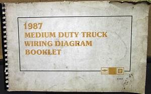 1987 Chevrolet Electrical Wiring Diagram Dealer Service