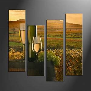 Wall art ideas design brown mountain piece
