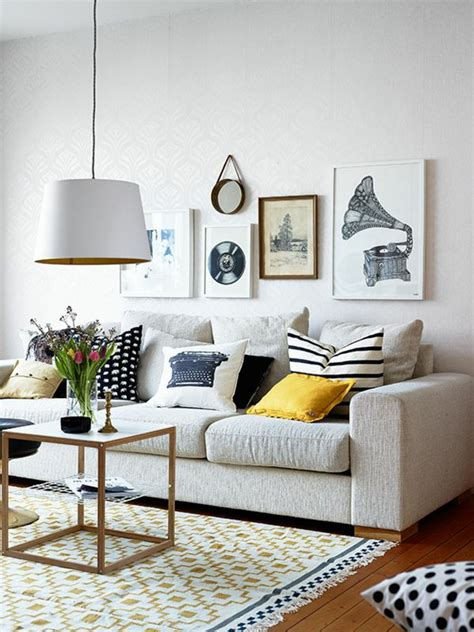plante verte pour chambre les coussins design 50 idées originales pour la maison