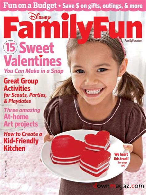 Family Fun Magazine February 2010 » Download Pdf Magazines