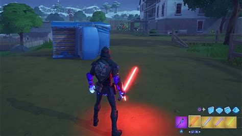 lightsabers gameplay  fortnite chapter  star wars