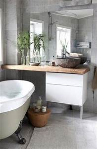 Decoration Petite Salle De Bain : decoration petite salle de bain gris ~ Dailycaller-alerts.com Idées de Décoration