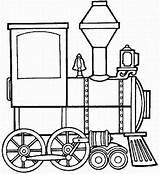 Train Steam Coloring Locomotive Engine Clipart Clip Cliparts Template Trains Panda Clipartpanda sketch template