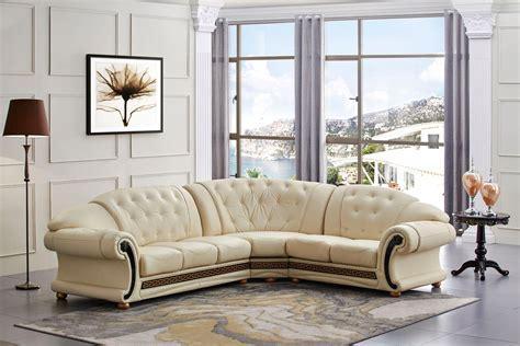 Versace Leather Sofa Beige Leather Sofa Shop Factory