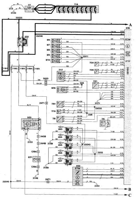 Volvo Wiring Diagrams Fuel Pump