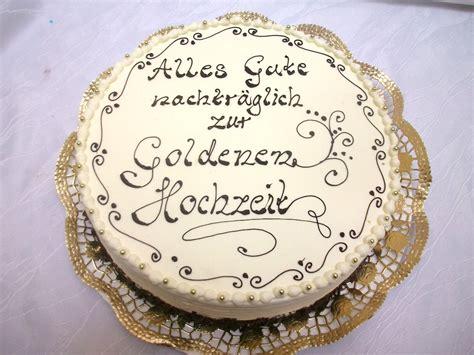 hochzeit blog goldene hochzeit torte