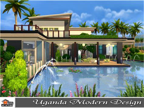 of sims 4 house building small modernity autaki s uganda modern design Best