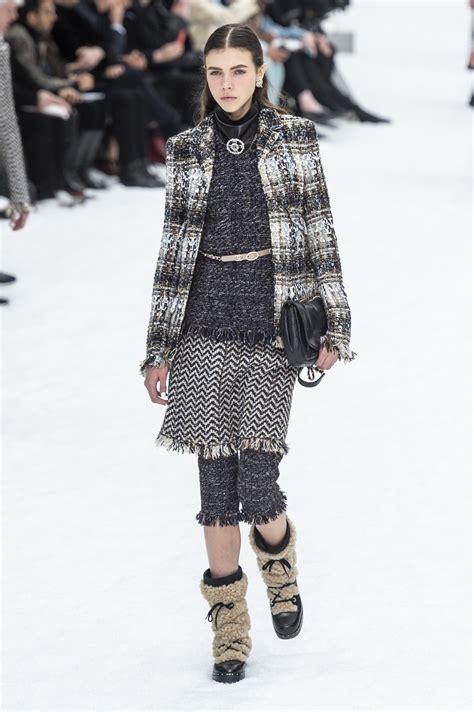 chanel fall  fashion show  impression