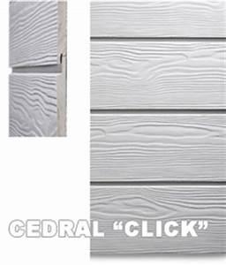 Eternit Cedral Click : bardages en eternit sidings ~ Frokenaadalensverden.com Haus und Dekorationen