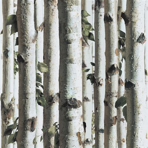 muriva forest wallpaper  whitebrowngreen
