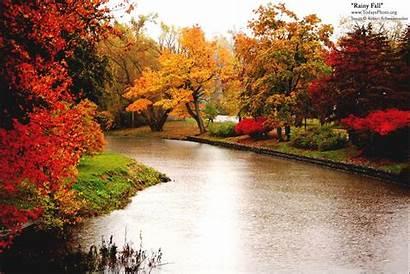 Rainy Fall Robert Weather Desktop Backgrounds Nature
