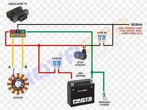 Wiring Diagram Honda Motorcycle Electrical Cable  Png  800x615px  Wiring Diagram  Alternating