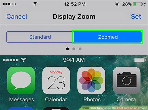 how to change text size on iphone how to change the font size on an iphone with pictures