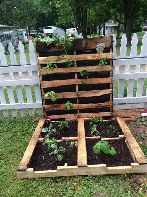 gorgeous diy pallet garden ideas  upcycle  wooden